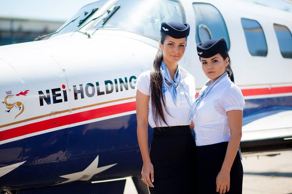 Transport aerian privat - Escorta VIP